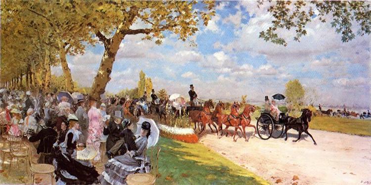 Return from the Races, 1875 - Giuseppe De Nittis