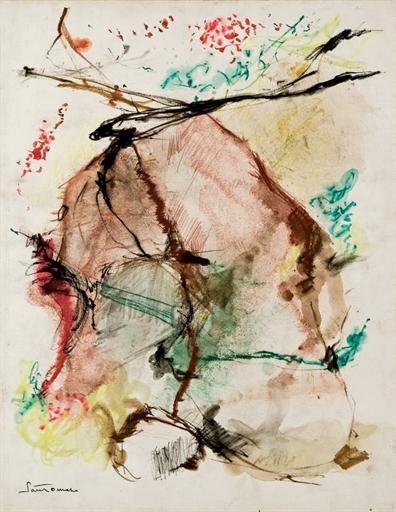 Untitled, 1962 - Giuseppe Santomaso