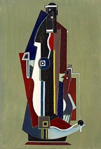 Vertical figure, 1928 - Gosta Adrian-Nilsson