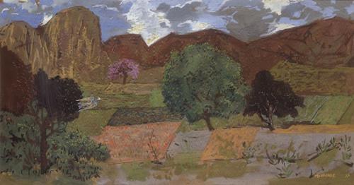 Landscape, 1977 - Грегуар Мишонц