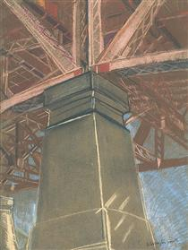 Bridge pillar - Grace Cossington Smith