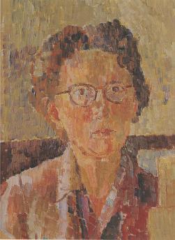 Self-Portrait, 1948 - Грейс Коссингтон Смит