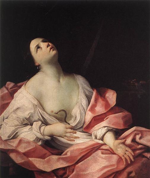 Cléopâtre et l'aspic, 1630 - Guido Reni