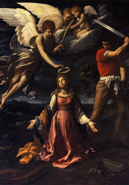 Martirio de Santa Catalina de Alejandría - Reni Guido