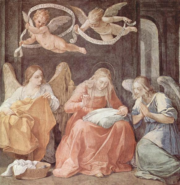 María y los ángeles - Reni Guido