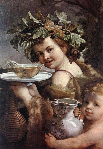 The Boy Bacchus, 1615 - 1620 - Гвідо Рені