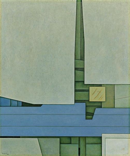 Blanco-Azul, 1969 - Гюнтер Герцо