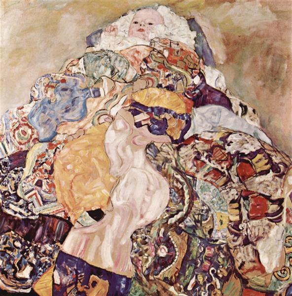 Baby, 1917 - 1918 - Gustav Klimt