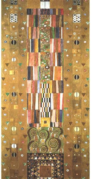 Design for the Stoclet Frieze. Knight, 1905 - Gustav Klimt