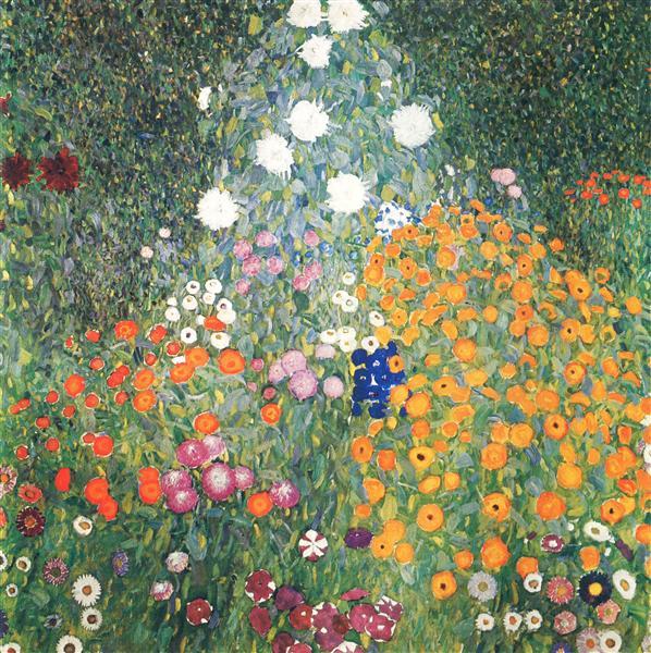 Flower Garden, 1905 - 1907 - Gustav Klimt