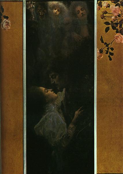 Love, 1895 - Gustav Klimt