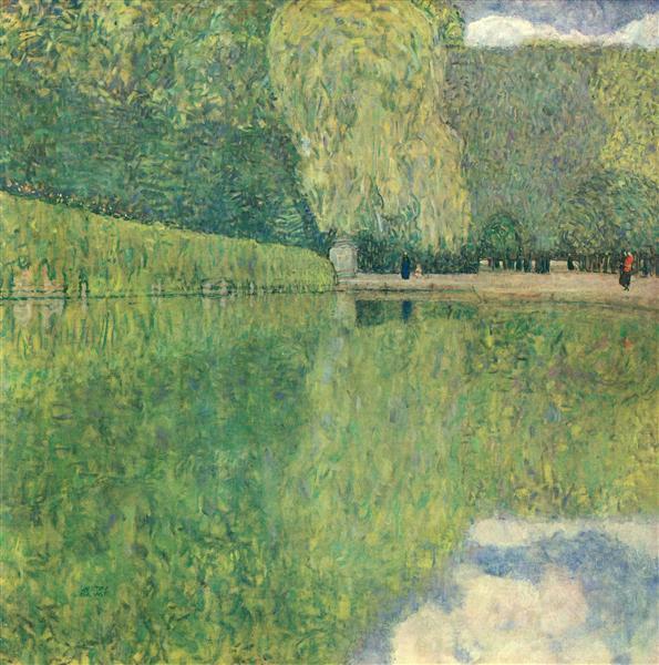 Park of Schönbrunn, 1916 - Gustav Klimt