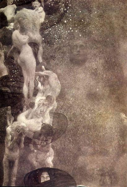Philosophy (final state), 1899 - 1907 - Gustav Klimt