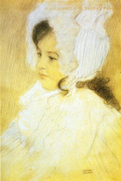 Portrait of a Girl, 1902 - Gustav Klimt
