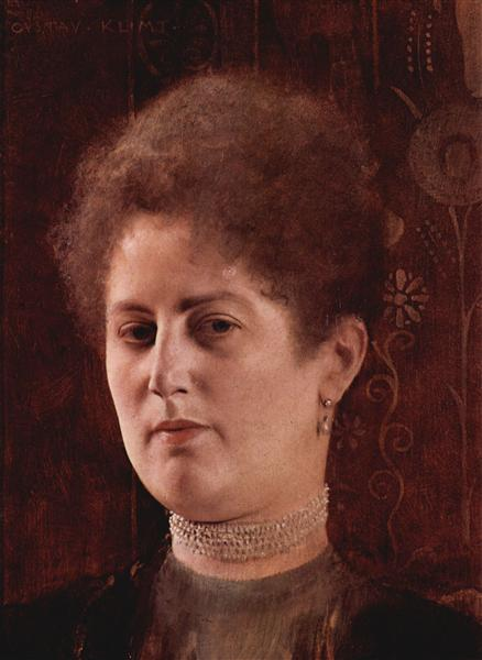 Portrait of a lady, 1894 - Gustav Klimt