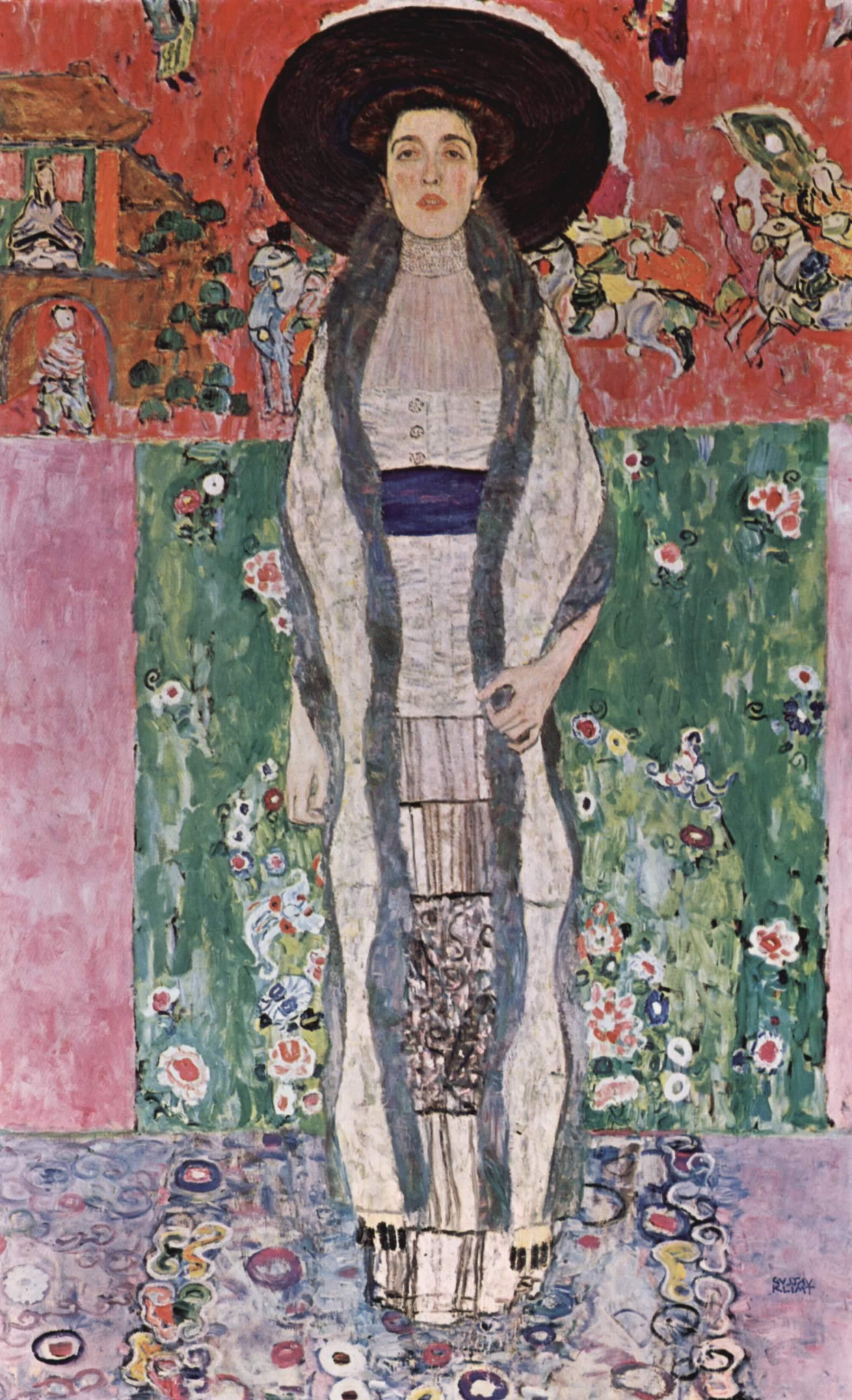 Portrait of Adele Bloch-Bauer II - Gustav Klimt - WikiArt ... Klimt Adele Bloch Bauer Ii