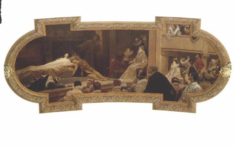 The Globe Theatre in London, 1888 - Gustav Klimt
