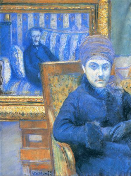 Portrait of Madame X..., 1878 - Gustave Caillebotte
