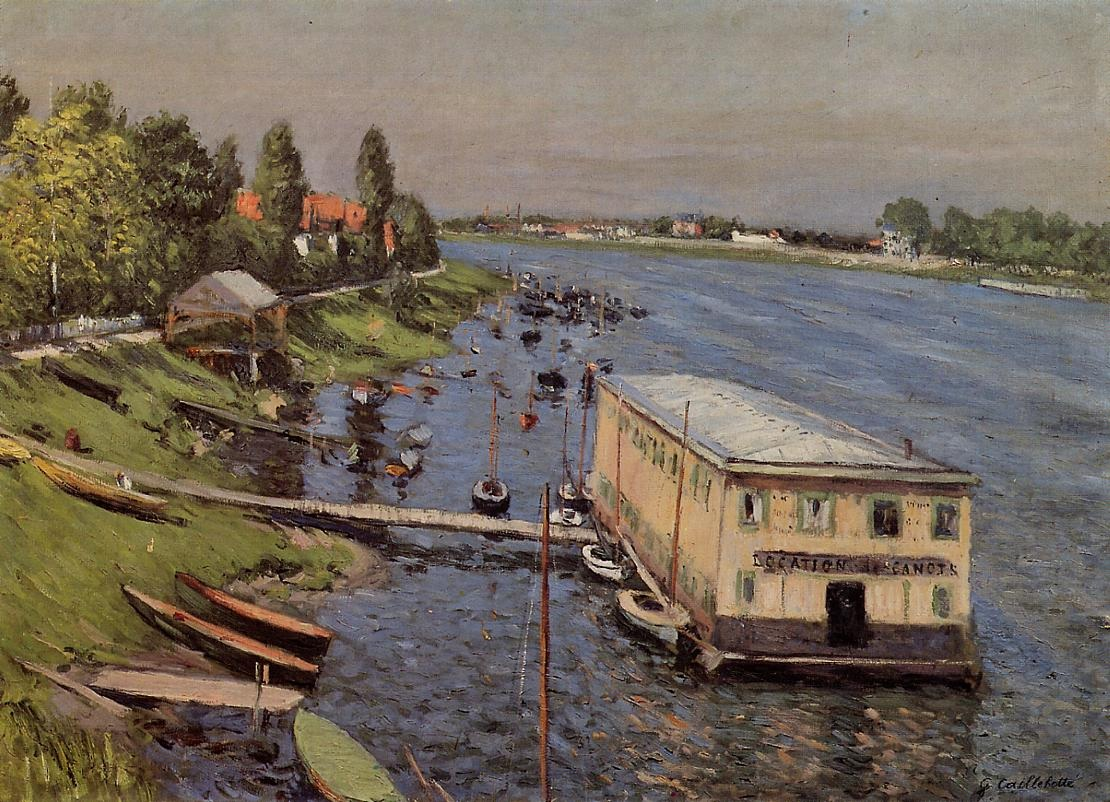 The Pontoon at Argenteuil, 1886-1887