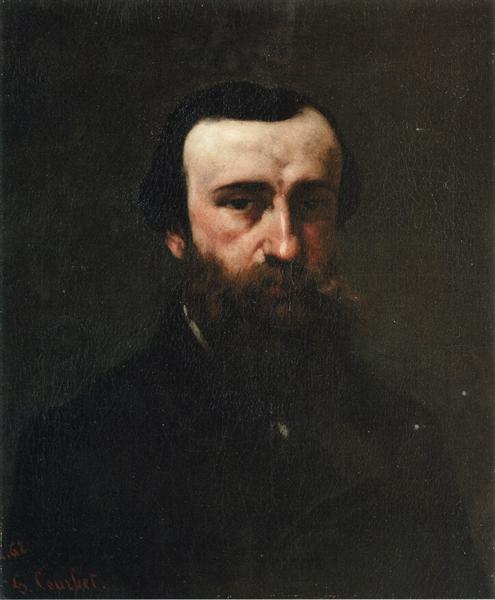 Portrait of Monsieur Nicolle, 1862 - Gustave Courbet