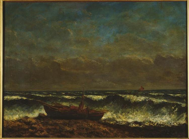 Stormy Sea (The Wave), 1870 - Gustave Courbet