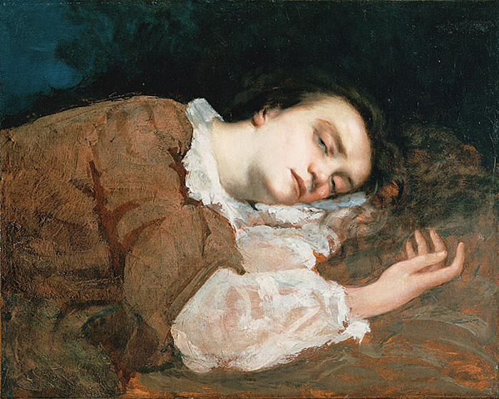Study for Les Demoiselles des bords de la Seine, 1856 - Gustave Courbet