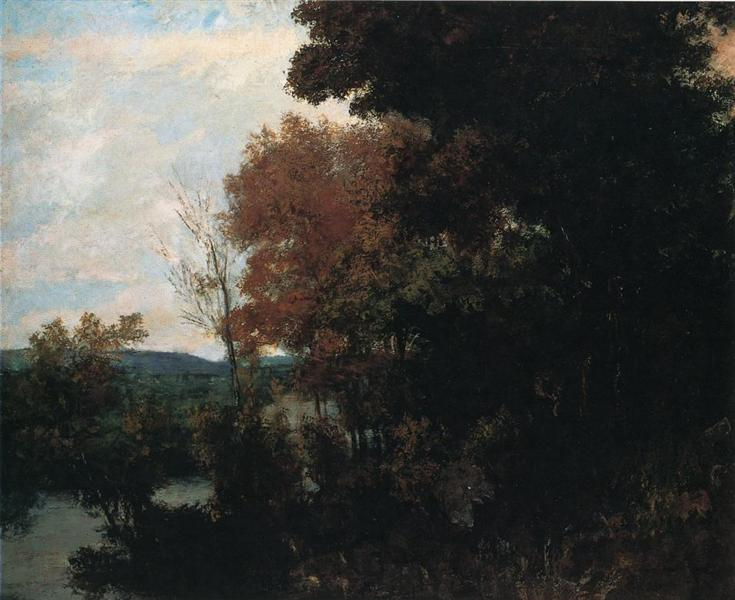 The Forest Edge - Gustave Courbet