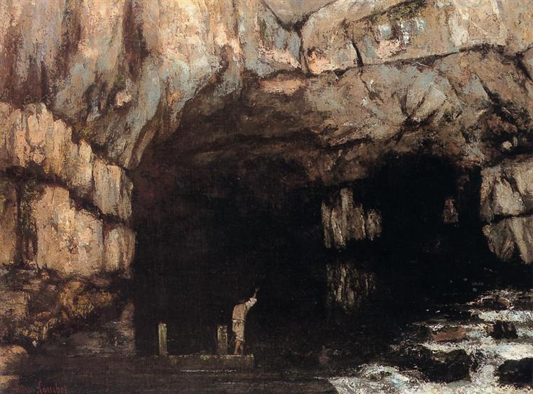 The Source of the Loue River, 1864 - Gustave Courbet