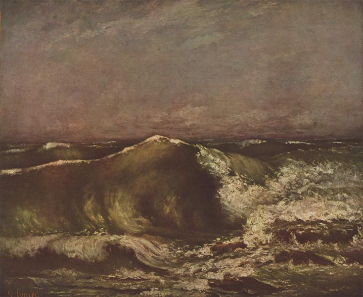 The Wave, 1870 - Gustave Courbet