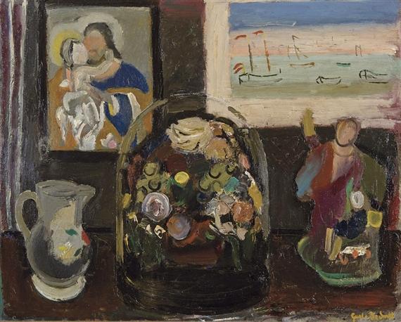 Bloemen Onder Glazen Stolp, 1939 - Gustave De Smet