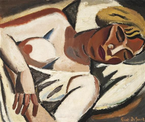 Nu couché, 1928 - Gustave De Smet