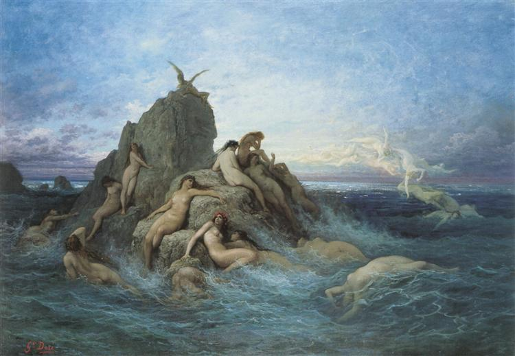 The Oceanides, 1860 - 1869 - Gustave Dore
