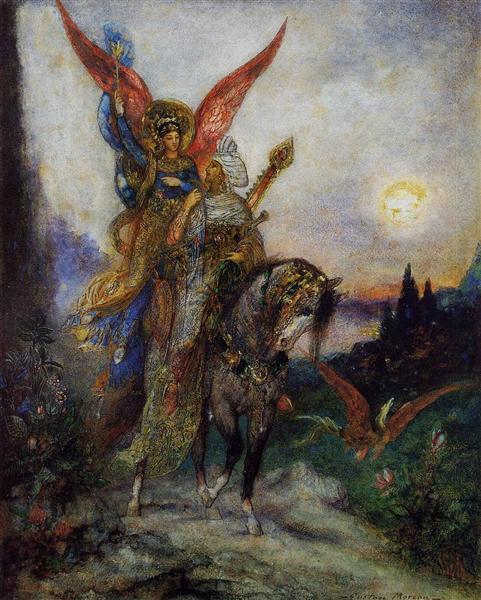 Arabian Poet (Persian), 1886 - Gustave Moreau