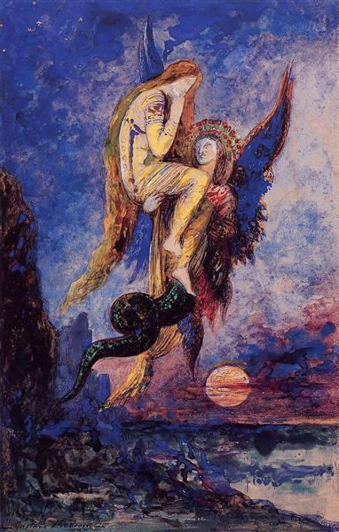 Chimera, c.1884 - Gustave Moreau