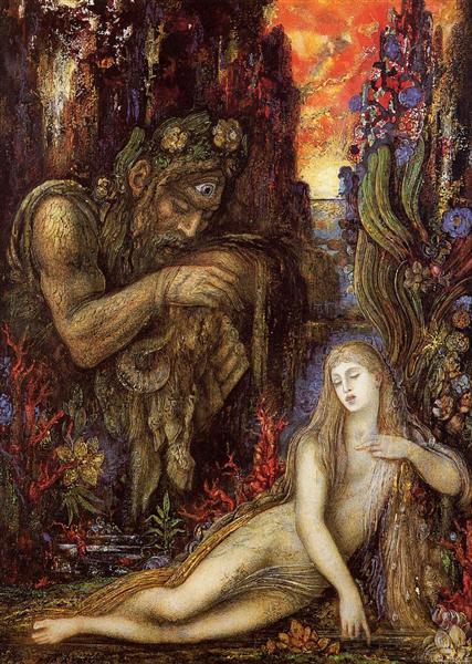 Galatea, c.1896 - Gustave Moreau