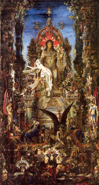 Jupiter and Semele, 1895 - Gustave Moreau