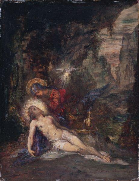 Pieta - Gustave Moreau