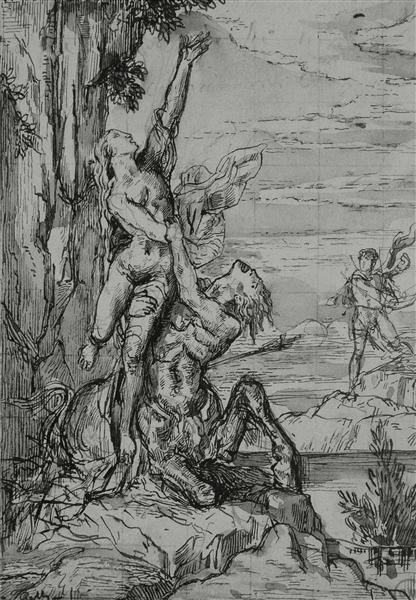 Removal Dejanira, c.1860 - Gustave Moreau