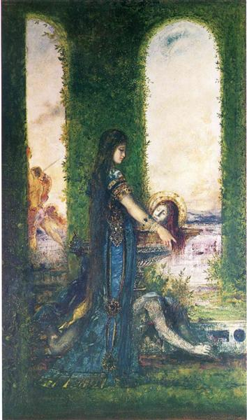 Salome in the Garden, 1878 - Gustave Moreau