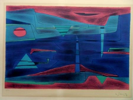 Lagune - nuit, 1957 - Gustave Singier