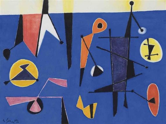 Marée haute, 1953 - Gustave Singier
