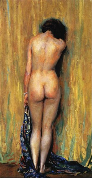 Standing Nude - Guy Rose