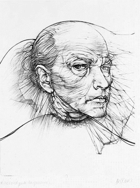 Self-Portrait, 1971 - Hans Bellmer