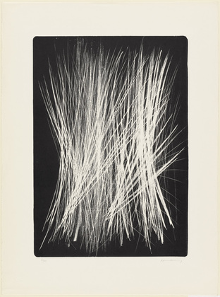 Untitled (L 102), 1963 - Hans Hartung
