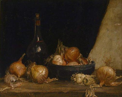 Onions, 1927 - Hans Heysen