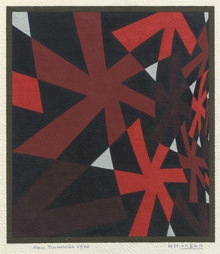Opus 54 A, 1967 - Ганс Хинтеррайтер