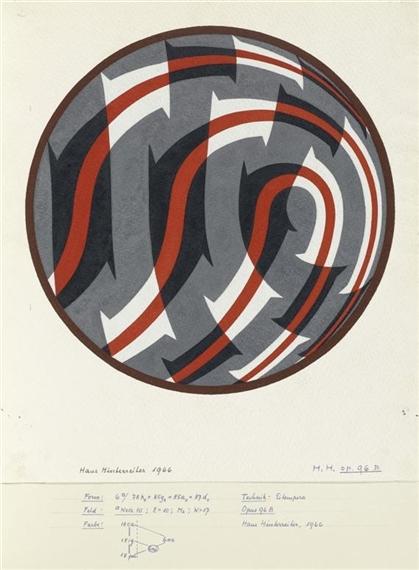 Opus 96 B, 1966 - Ганс Хинтеррайтер