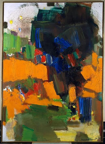Deep Within the Ravine, 1965 - Ганс Гофман