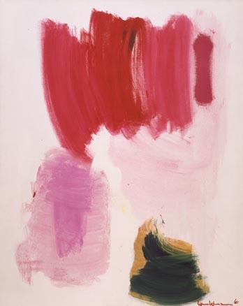 Delirious Pink, 1961 - Hans Hofmann