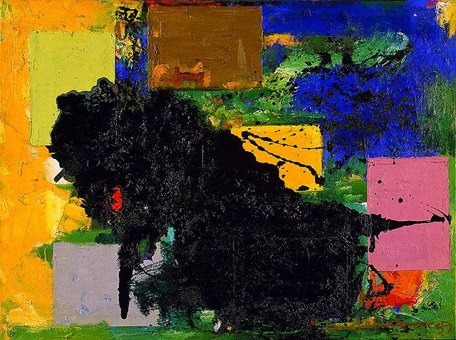 The Vanquished, 1959 - Hans Hofmann